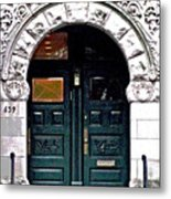 Door Series Metal Print by Ginger Geftakys