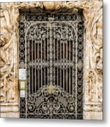 Door - Seville Spain Metal Print