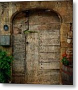 Door To The Secret Garden Metal Print