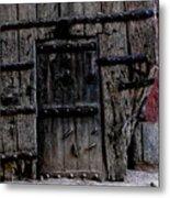 Door Within A Door Metal Print