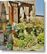 Little Paradise In Tuscany/italy/europe Metal Print