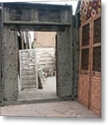 Doors And More Doors Metal Print
