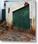Doors And Windows Lencois Brazil 10 Metal Print