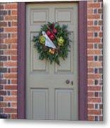 Doors Of Williamsburg 106 Metal Print