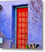 Doorway 6 Metal Print