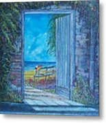 Doorway To ... Metal Print