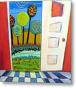 Doorway To Somewhere Metal Print
