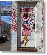 Doorway Willaimsburg Metal Print