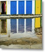Doorways In Paraty  Metal Print