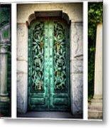 Doorways Of Woodlawn Metal Print