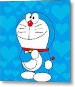 Doraemon Metal Print
