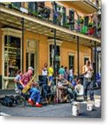 Doreen's Jazz New Orleans 2 Metal Print