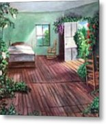 Dorothy's House After The Passage Of Time Metal Print