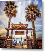 Dory Fishing Fleet Market Picture Newport Beach Metal Print by Paul Velgos