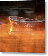 Dory In Orange Mist Metal Print