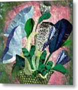 Dot Bouquet Metal Print