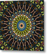 Dotted Wishes No. 4 Kaleidoscope Metal Print