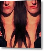 Double Agent Metal Print