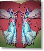 Double Angel Metal Print