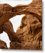 Double Arch Metal Print