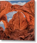 Double Arches At Arches National Park Metal Print