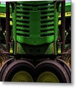Double Green Machines Metal Print