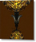 Double Lamp Metal Print