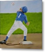 Double Play Metal Print