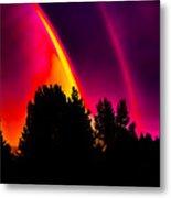 Double Rainbow Metal Print