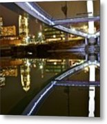 Double Skyline  Metal Print