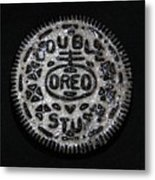Double Stuff Oreo Metal Print