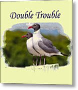 Double Trouble 2 Metal Print