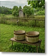 Double Tubs Metal Print