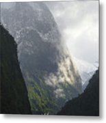Doubtful Sound Metal Print by Barry Culling