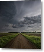 Down A Little Dirt Road  Metal Print