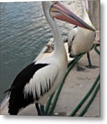 Down By The Docks Metal Print