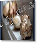 Down By The Seashore Metal Print
