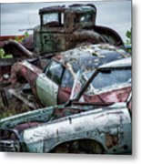 Down In The Dumps 3 Metal Print