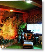 Down In The Jungle Room Metal Print