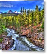 Down The River Metal Print