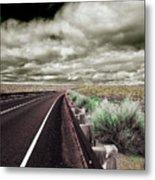 Down The Road Metal Print