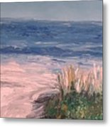 Down The Shore Metal Print