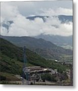 Down The Valley At Snowmass #3 Metal Print