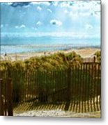 Down To The Beach Metal Print
