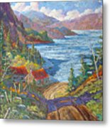 Down To The Lake Metal Print