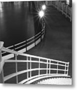 Down To The Pier Metal Print
