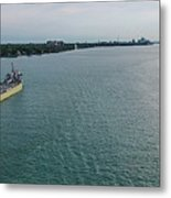 Downbound At Belle Isle Metal Print