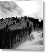 Downhill Metal Print