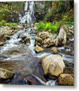 Downstream From Chittenango Falls Metal Print