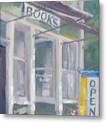 Downtown Books Four Metal Print